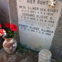 Photo taken at Cementerio de Playa Ancha by Beatriz V. on 10/29/2011
