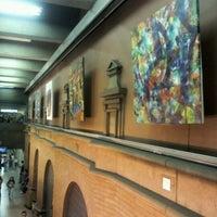 Photo taken at Metro Puente Cal y Canto by Gerardo O. on 10/25/2011
