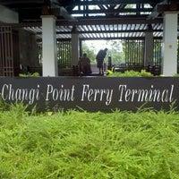 Photo taken at Changi Point Ferry Terminal by Joycelyn T. on 11/25/2011