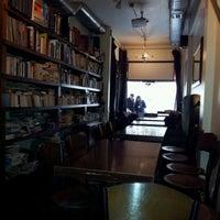 Photo taken at Tezgah Kitapevi Cafe Bar by Tezgah T. on 4/2/2012