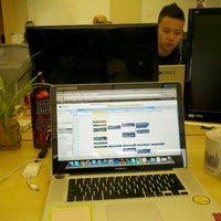 Photo taken at GREE Intl Temporary Office by Richard D. on 1/23/2012