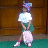 Photo taken at Kinderland Kayu Putih by milly s. on 4/7/2011