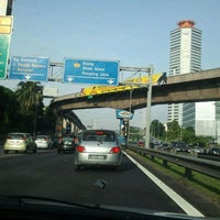 Photo taken at Lebuhraya Persekutuan (Federal Highway) by Azza S. on 1/30/2012