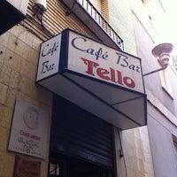 Photo taken at Cafe Bar Tello by Sebas R. on 6/13/2011