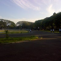 Photo taken at Saparua Running Track by Sanadamegatari T. on 7/29/2012