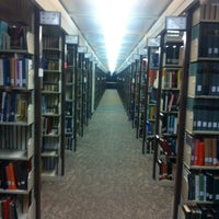 Photo taken at TTU - Texas Tech University Library by Mark S. on 4/21/2012