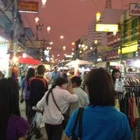 Photo taken at Chiang Rai Walking Street by NuKwang B. on 3/10/2012