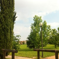 Photo taken at Parco Lago Nord by Ilaria on 5/25/2012