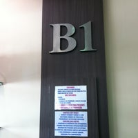 Photo taken at B1 by Walter S. on 5/4/2012