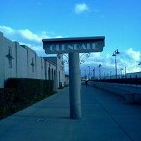 Photo taken at Metrolink Glendale Station by Rita M. on 2/22/2012