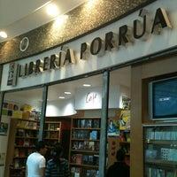 Photo taken at Librería Porrúa by Pako A. on 2/20/2012