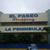 Photo taken at El Paseo Shopping by David V. on 8/9/2012
