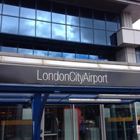 Photo taken at London City Airport (LCY) by Michael G. on 6/18/2012