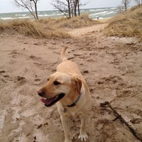 Photo taken at Saugatuck Dunes State Park by Angela S. on 3/5/2012