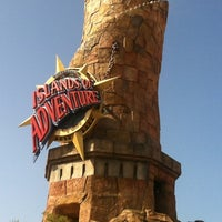 Photo taken at Islands Of Adventure Lighthouse by Rafael A. on 8/24/2012