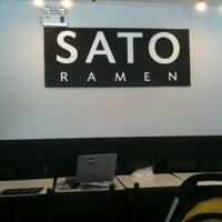 Photo taken at Sato Ramen by ♥Fabi C. on 4/4/2012