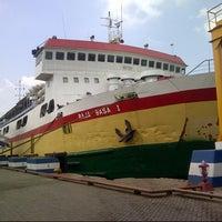 Photo taken at Pelabuhan Merak by Awaluddin R. on 8/16/2012