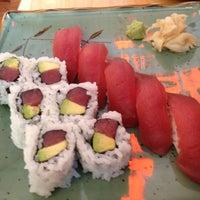 Photo taken at Momo Sushi & Cafe by iLuvtra1ls P. on 6/3/2012