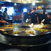 Photo taken at HuHot Mongolian Grill by Thom A. on 7/14/2011