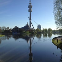 Photo taken at Olympiapark by Avihay F. on 4/27/2012
