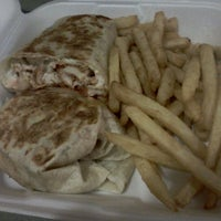 Photo taken at TJ's Restaurant & Pizza by Ryan M. on 4/19/2012