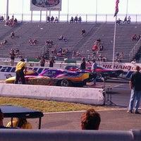 Photo taken at Old Bridge Township Raceway Park by Maria P. on 5/5/2012