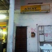 Photo taken at Amat Burger & Jus Buah Gelas Besar by Azizi M. on 1/24/2012