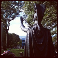 Photo taken at Green-Wood Cemetery by Kimberly H. on 10/16/2011