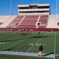 Photo taken at Clyde Abshier Stadium-DPISD by Christopher E. on 10/22/2011