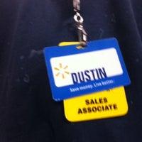 Photo taken at Walmart Supercenter by Dustin S. on 8/1/2012