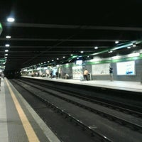 Photo taken at Metro Loreto (M1, M2) by Milena P. on 8/12/2012