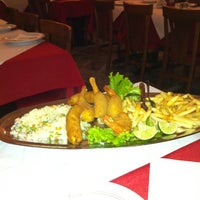 Photo taken at Alcide's Restaurante by Adriano G. on 6/22/2012