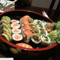 Photo taken at Sashimiya by Caelum L. on 4/7/2012