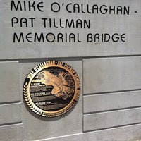 Photo taken at Mike O'Callaghan-Pat Tillman Memorial Bridge by Eric V. on 7/10/2011