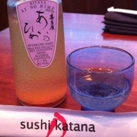 Photo taken at Sushi Katana by Kelly on 2/22/2012