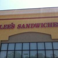 Photo taken at Lee's Sandwiches by Cason on 6/10/2011