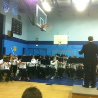 Photo taken at Mendenhall Middle School by Jeff B. on 12/6/2011