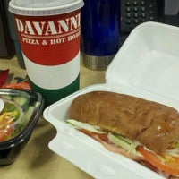 Photo taken at Davanni's Pizza and Hot Hoagies by Maggie S. on 12/16/2011
