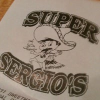 Photo taken at Super Sergio's by Marc O. on 11/1/2011
