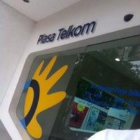Photo taken at Plasa Telkom by Wie X. on 1/10/2012