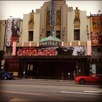Photo taken at Pantages Theatre by Cris M. on 5/18/2012