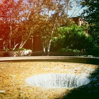 Photo taken at UCLA Inverted Fountain by Johannes E. on 10/8/2011