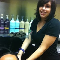 Photo taken at HQ Salon by Cicelle D. on 4/5/2012