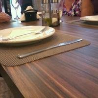 Photo taken at Restaurante Sírio Libanês by Rafael N. on 1/29/2012