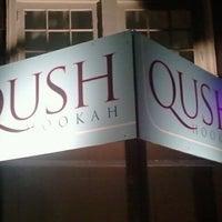 Photo taken at Qush Hookah Lounge by Chris C. on 9/11/2011