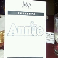 Photo taken at Toby's Dinner Theatre by Crystal C. on 11/19/2011