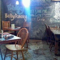 Photo taken at Solstice Wood Fire Cafe by Marcus on 10/6/2011