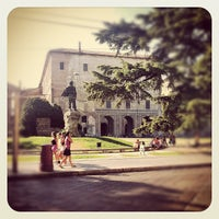 Photo taken at Piazzale della Pace by Davide M. on 8/29/2012