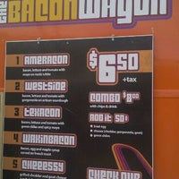 Photo taken at The Bacon Wagon by Alex W. on 2/4/2012