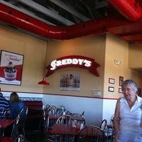 Photo taken at Freddy's Frozen Custard & Steakburgers by Annette R. on 10/16/2011
